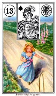 Significado das cartas do baralho cigano II 1