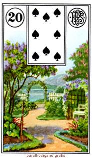 Significado das cartas do baralho cigano II 8
