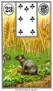 Significado das cartas do baralho cigano II 11