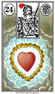Significado das cartas do baralho cigano II 12