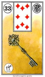 Significado das cartas do baralho cigano III 9