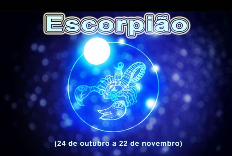 Horóscopo signo ESCORPIÃO